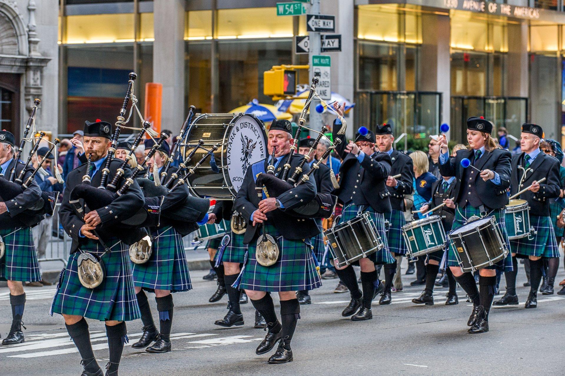New York City Tartan Day Parade in New York - Best Season 2020