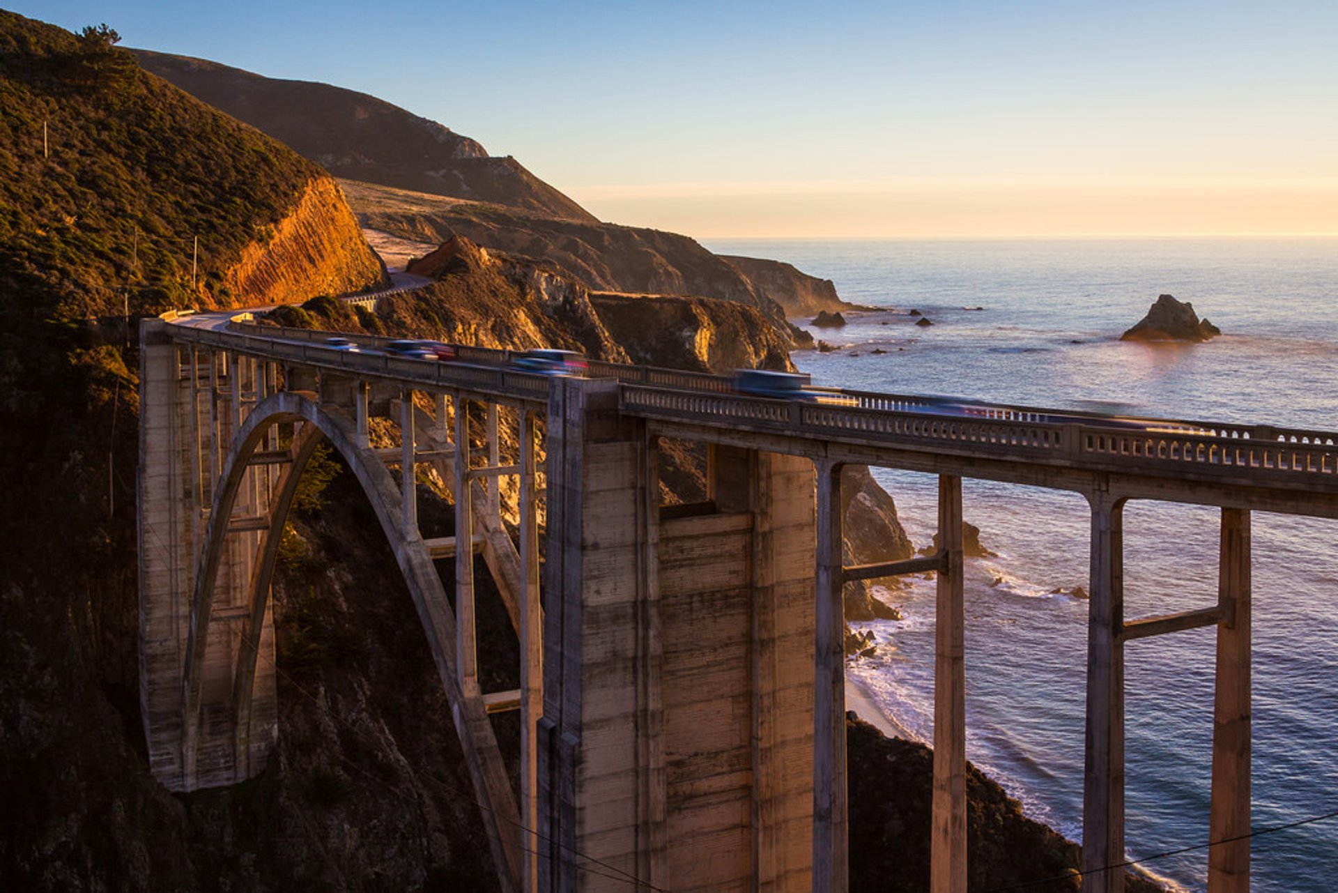 The Bixby Creek Bridge 2020