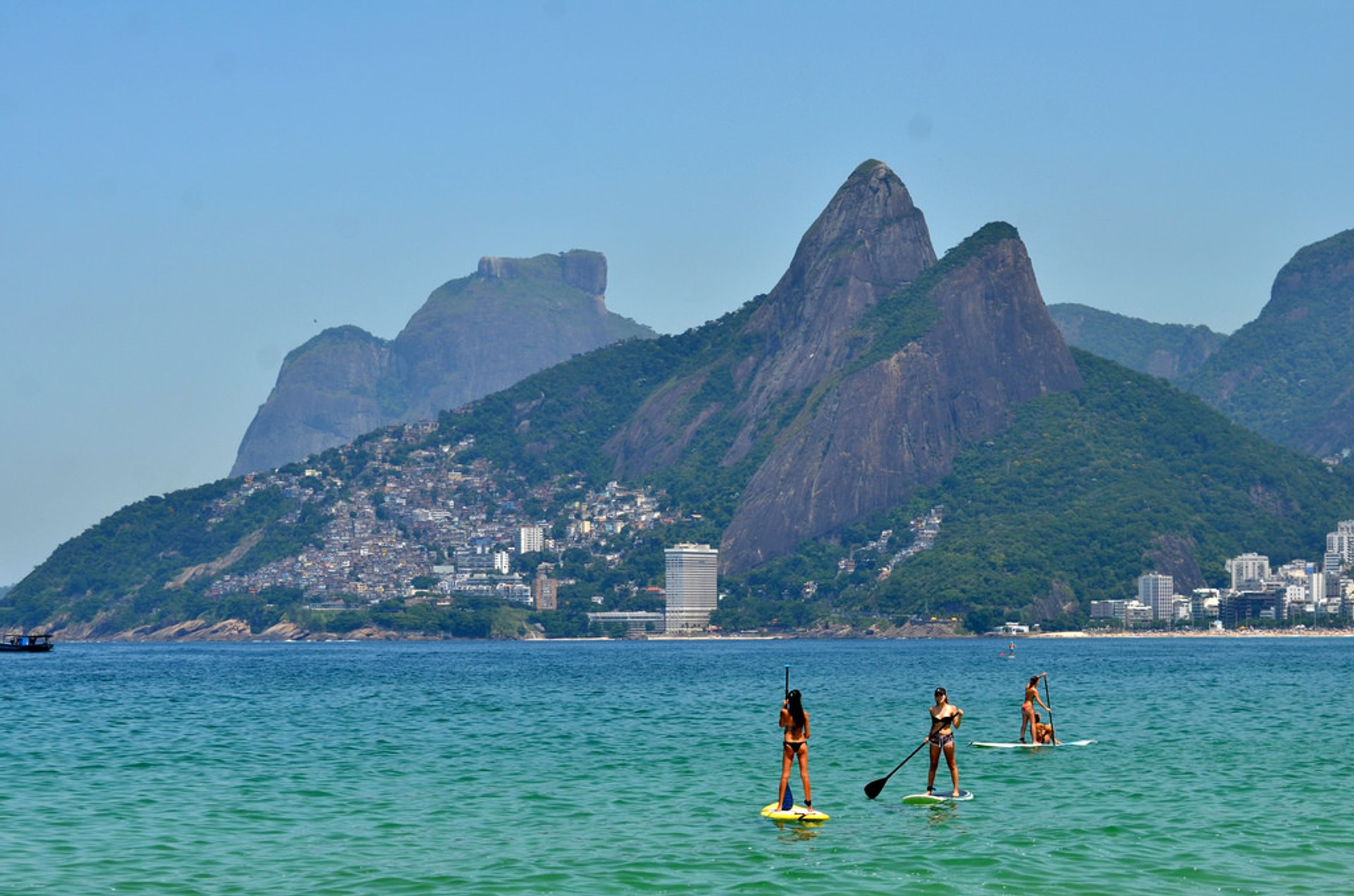 Stand Up Paddle Boarding in Rio de Janeiro 2019 - Best Time