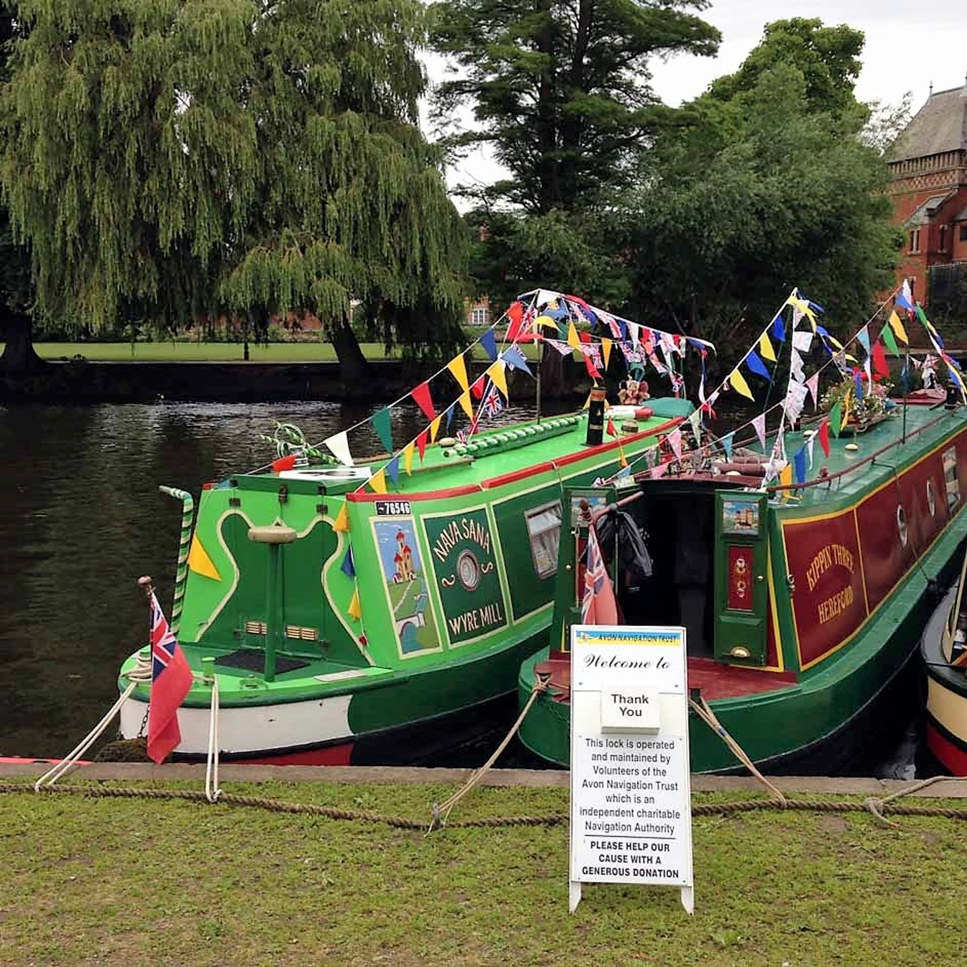 Best time to see Stratford River Festival  in England 2019