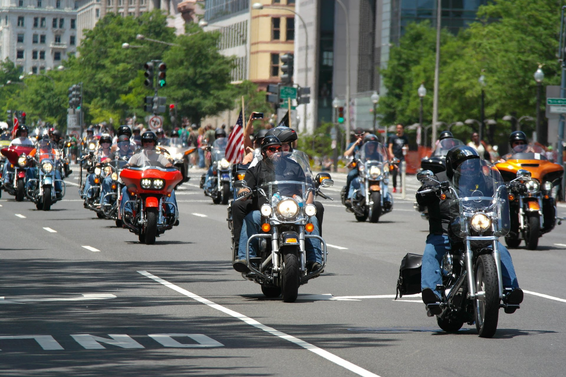 Rolling Thunder 'Ride for Freedom' in Washington, D.C. - Best Season 2020