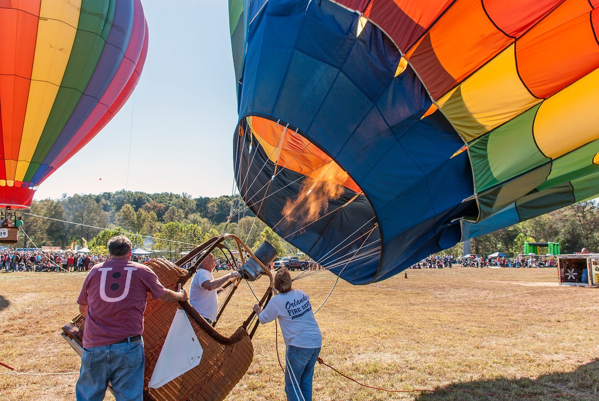 Best time for Carolina Balloon Fest 2020