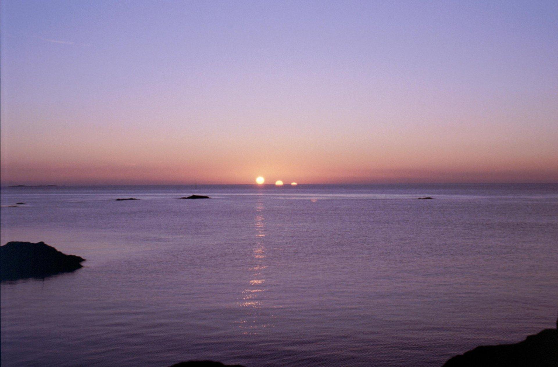 Polar Days in Norway - Best Season 2020