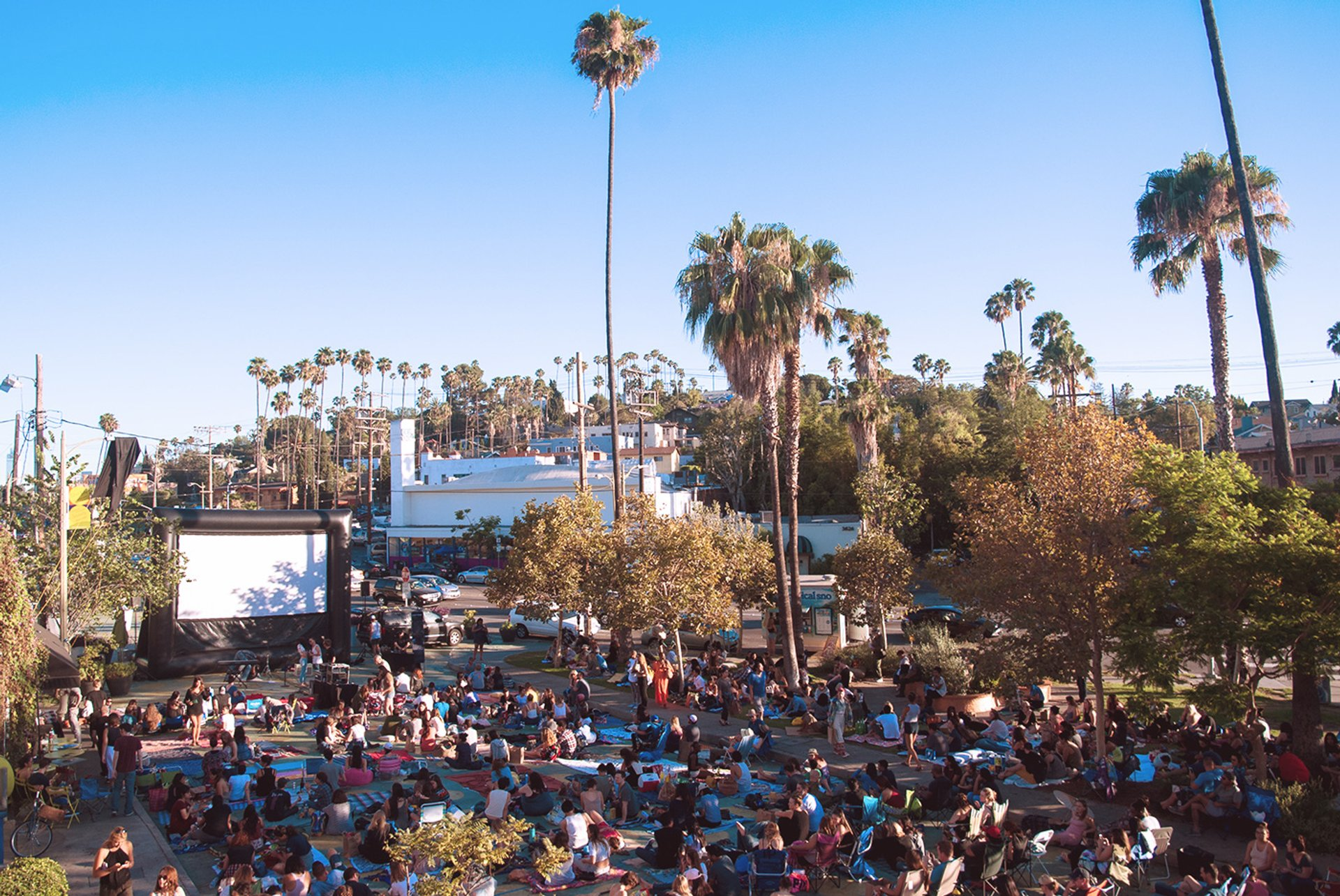 Best time for Outdoor Movies in Los Angeles 2020