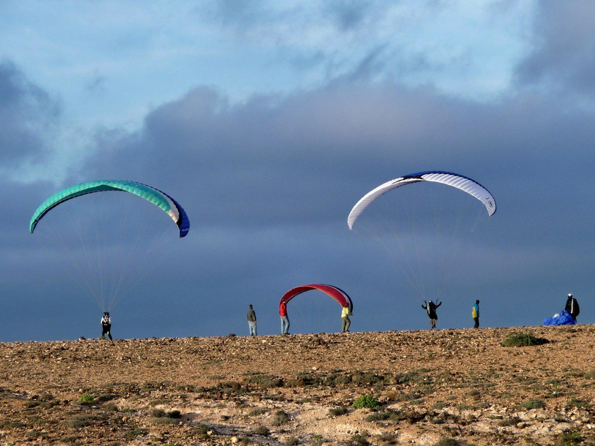 Paragliding in Canary Islands - Best Season 2019