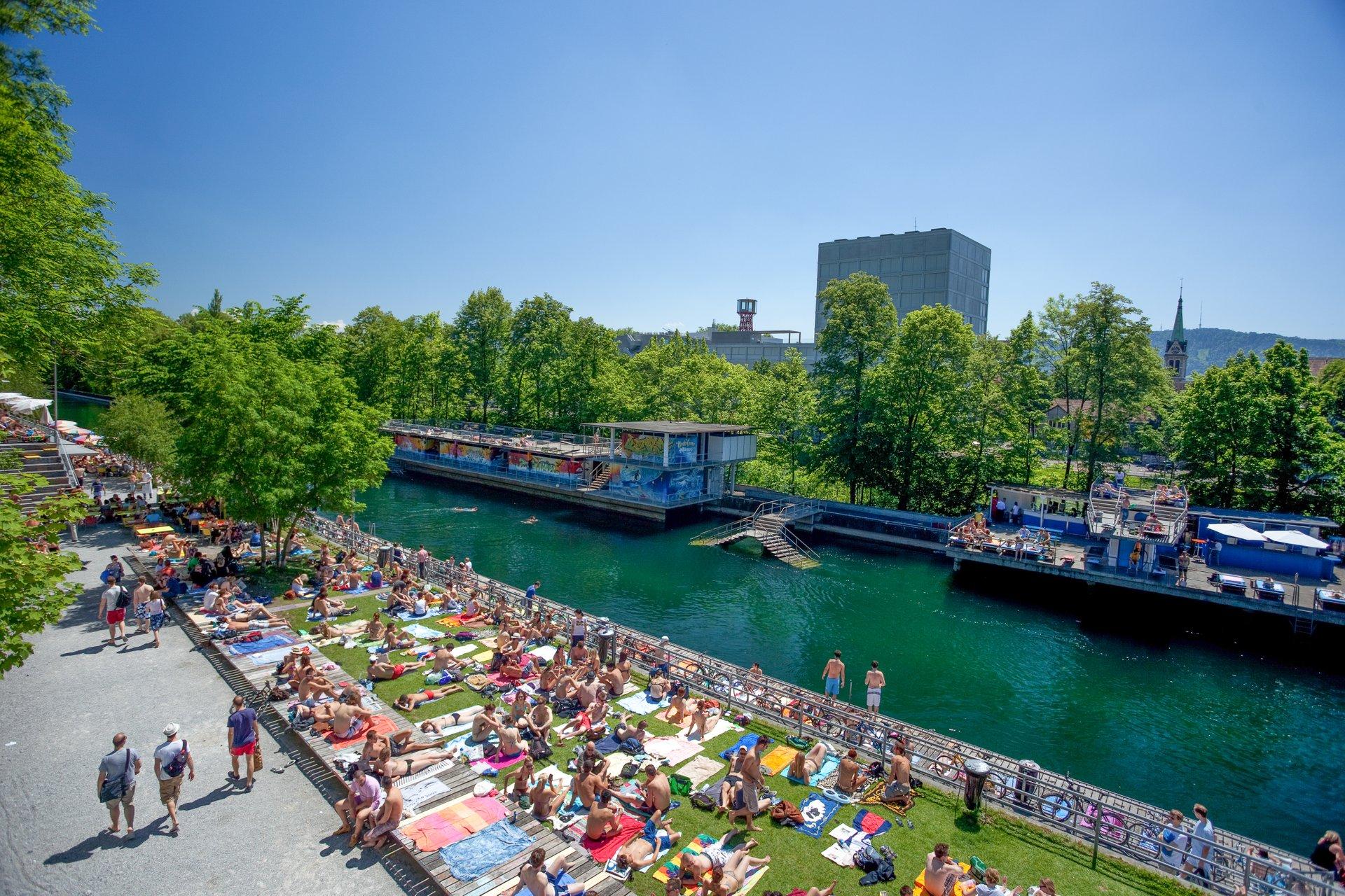 Oberer Letten in Zürich 2020