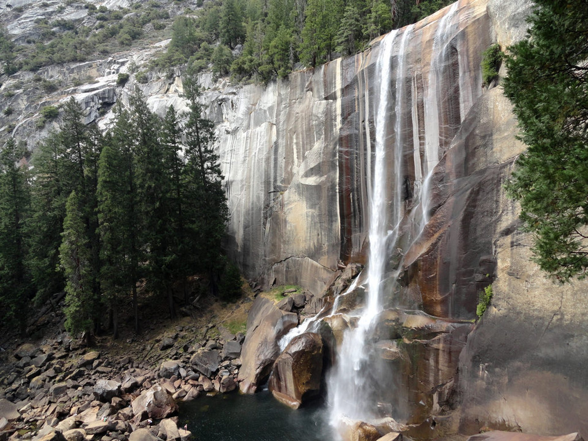Vernal Fall from Mist Trail 2020