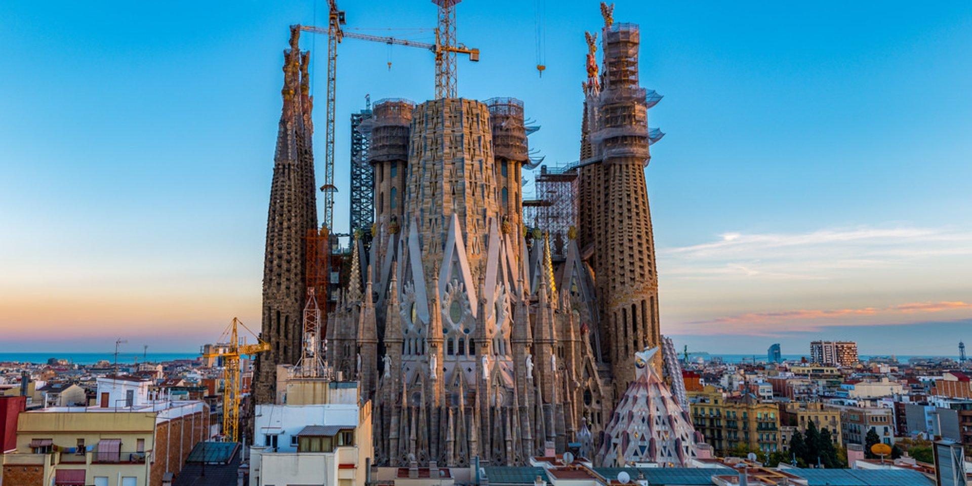 Best time for Sagrada Familia in Barcelona 2019