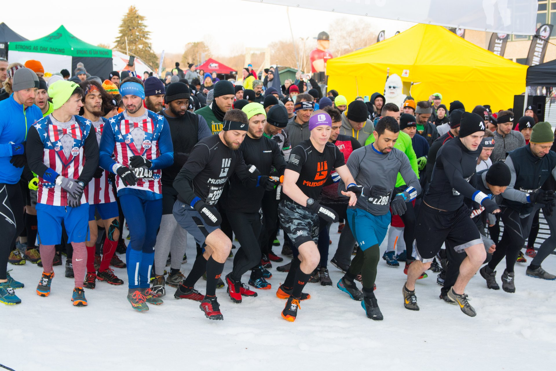 The Abominable Snow Race in Midwest 2020 - Best Time