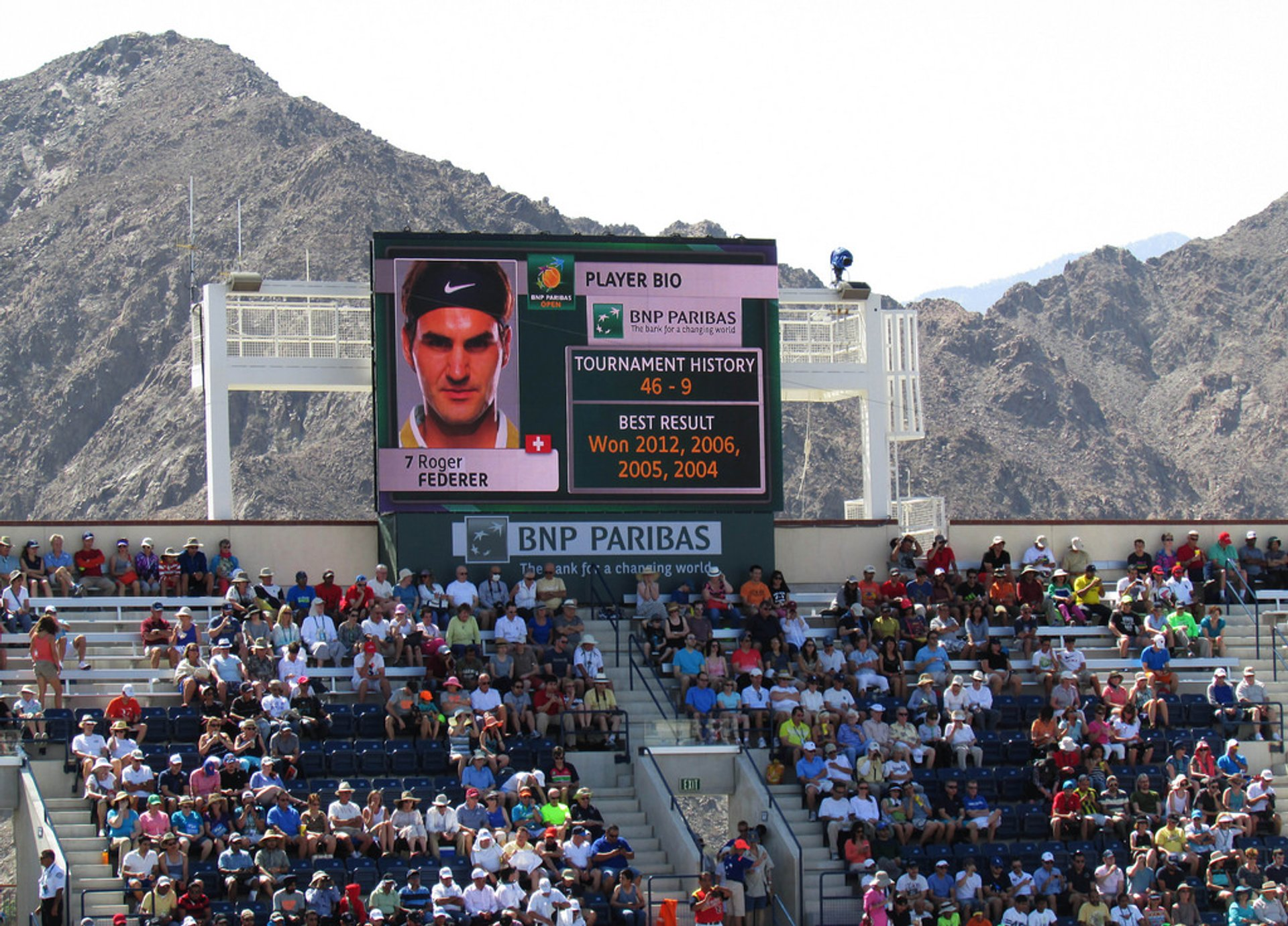 BNP Paribas Open in California - Best Season