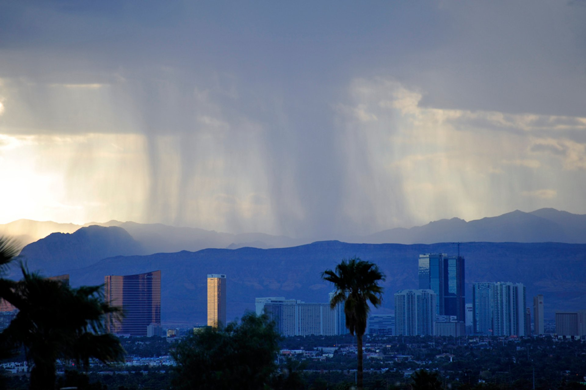Monsoon Season in Las Vegas - Best Season