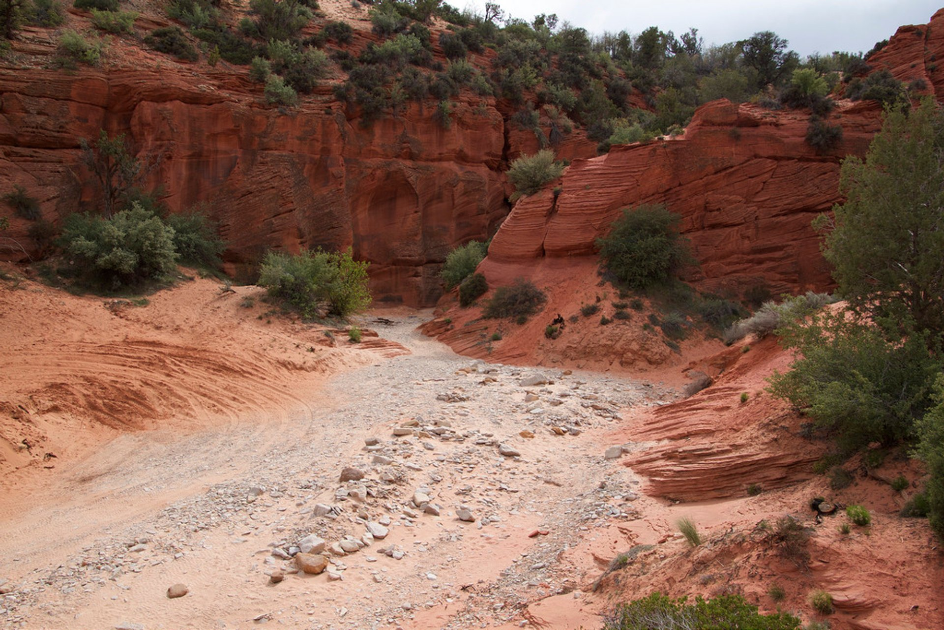 Best time for Red Canyon (Peek-a-Boo Canyon) in Utah 2019