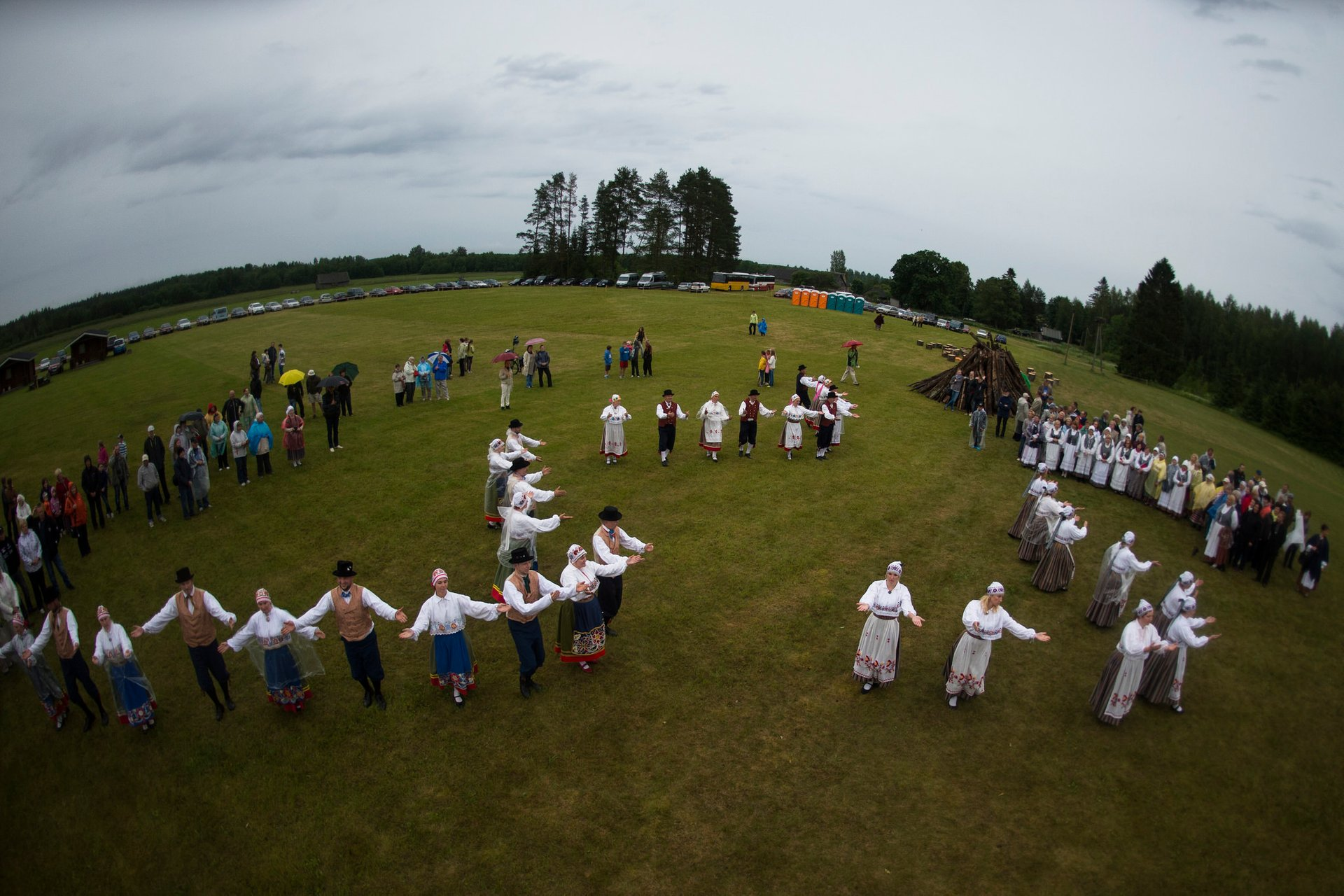 Best time to see Massive Song and Dance Celebration (Laulupidu) in Estonia 2019
