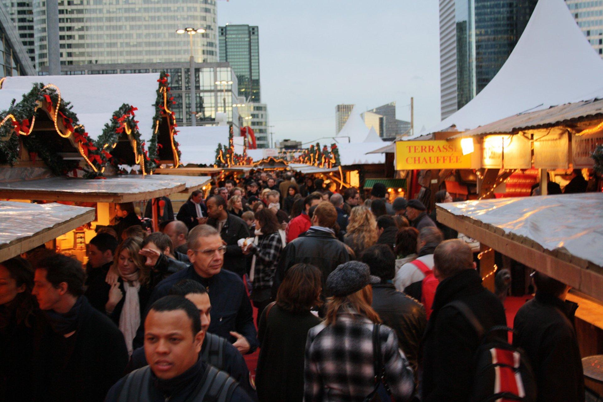 Esplanade de la Défense – Marché de Noël  2020