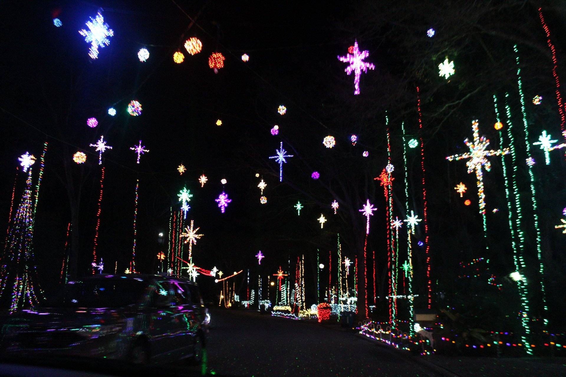 Girvin Road lights 2020