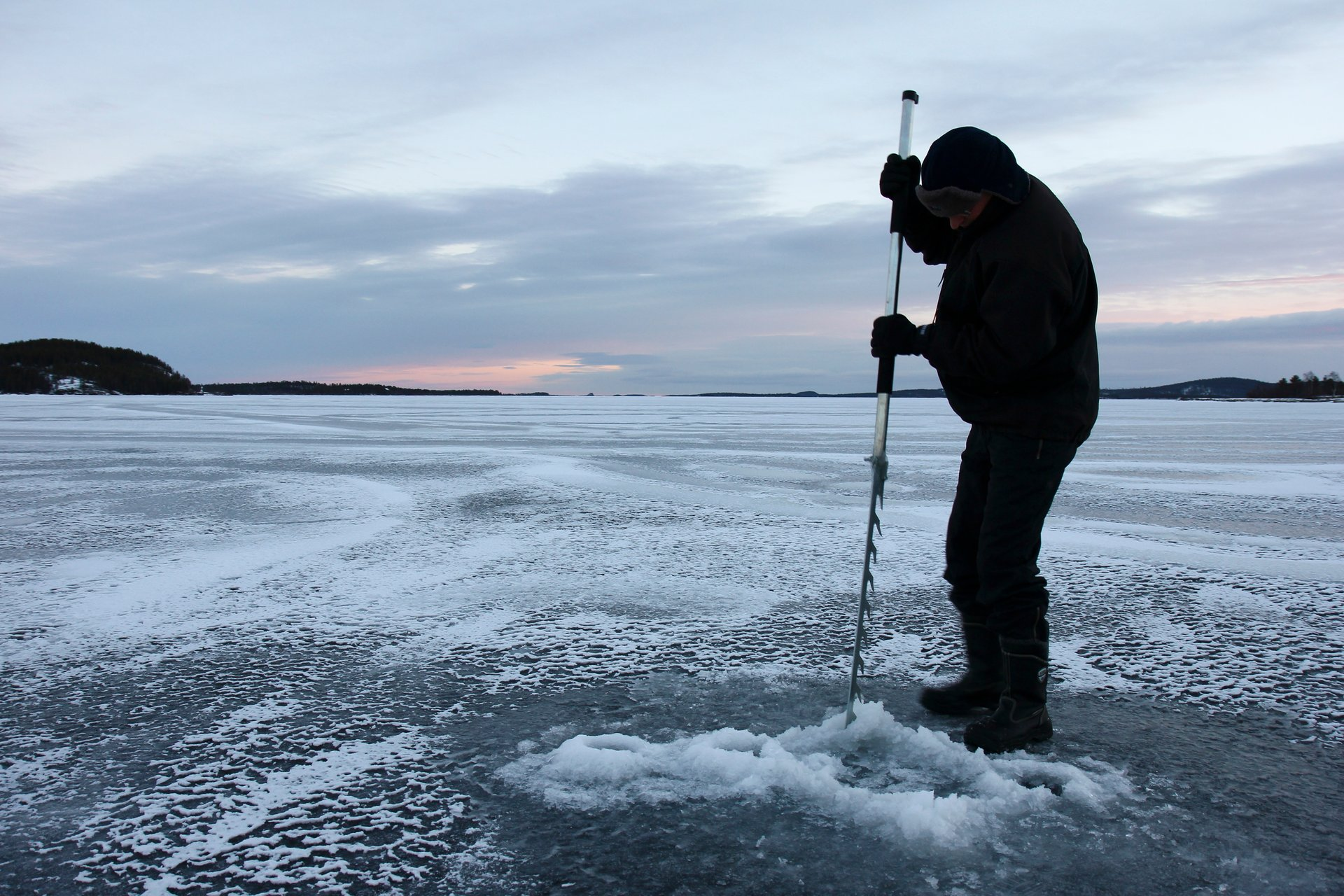 Best time to see Ice Fishing in Finland 2020