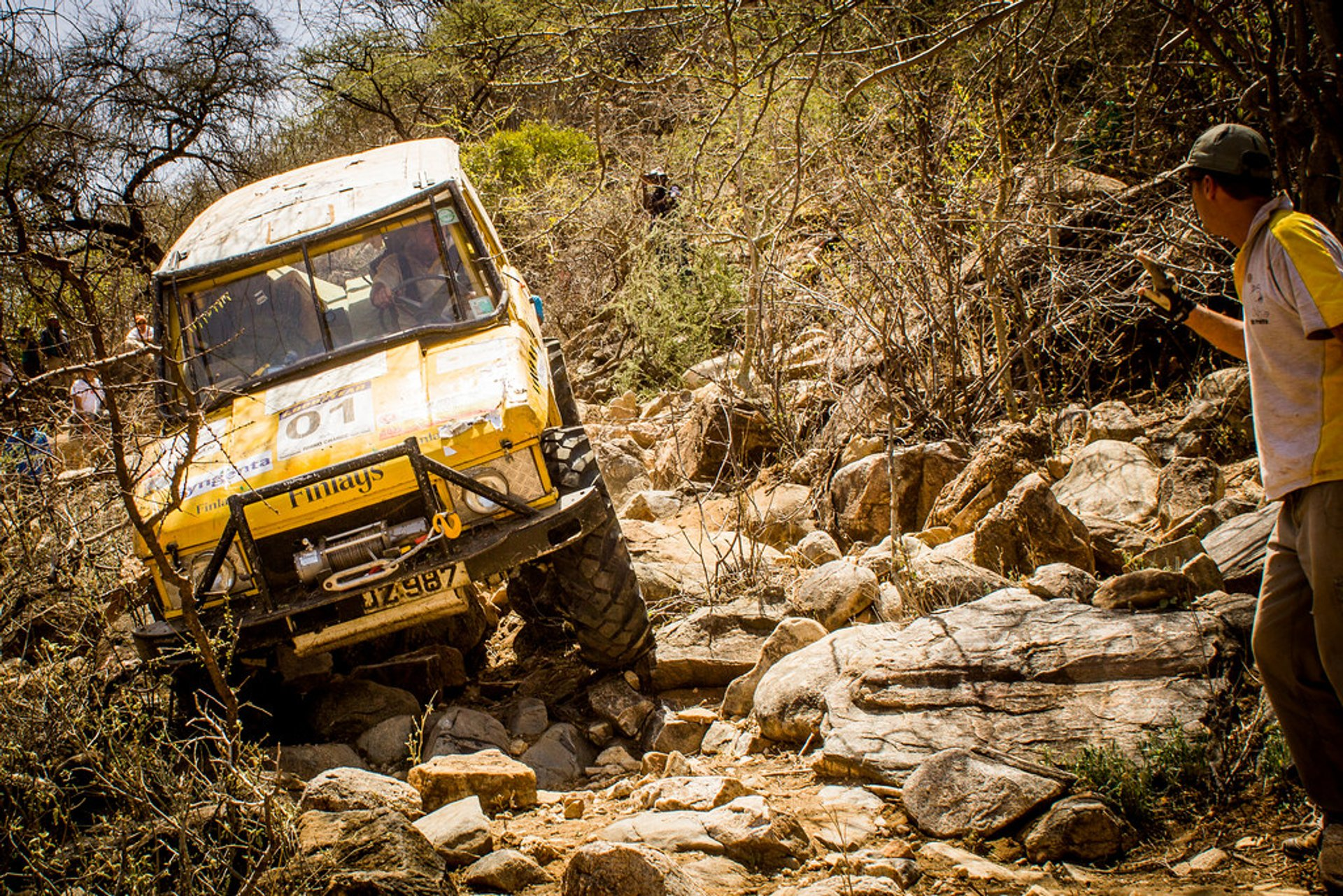 Rhino Charge in Kenya - Best Season