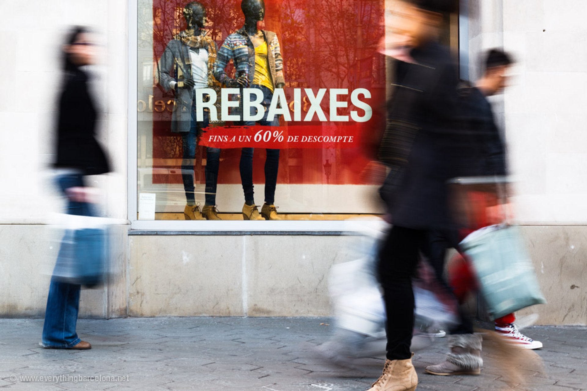 Rebajas or Sales in Barcelona - Best Time