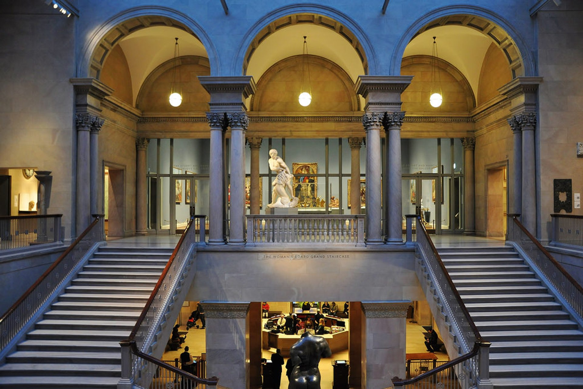 The beautiful Art Institute of Chicago 2020