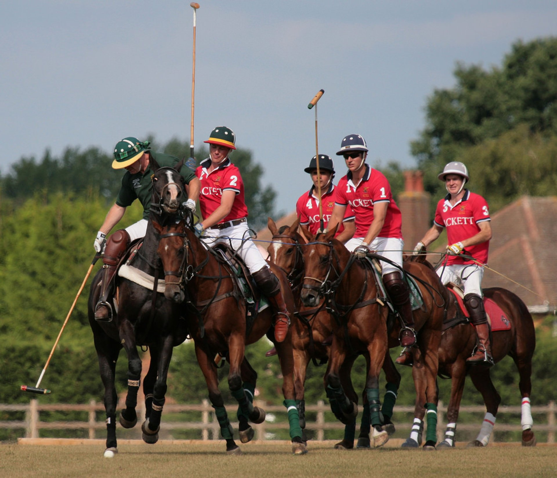 Polo  in England 2019 - Best Time