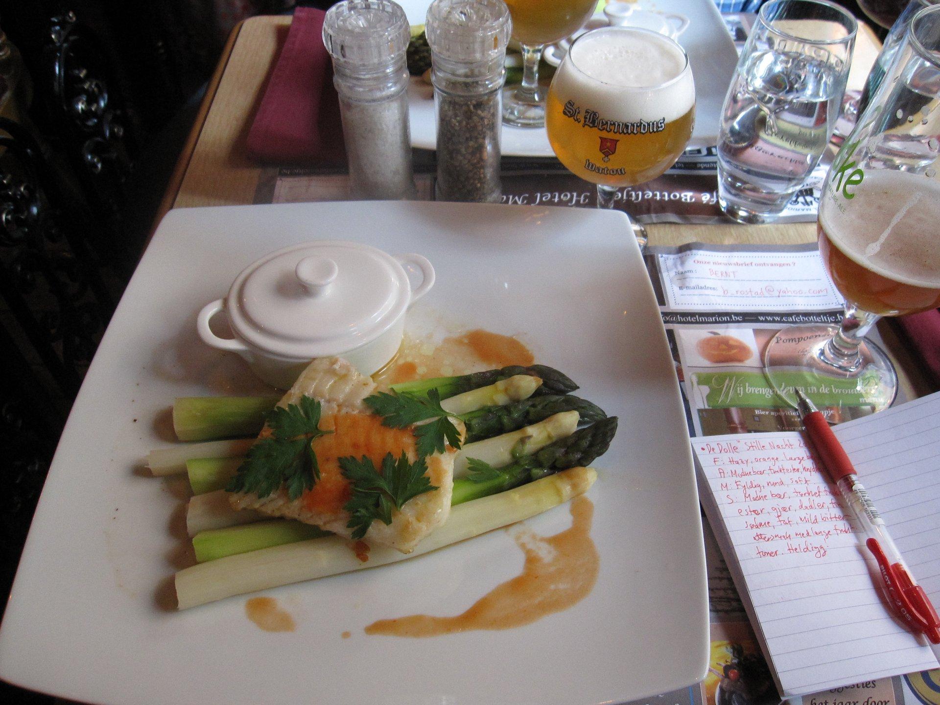 White Asparagus in Belgium - Best Season 2020