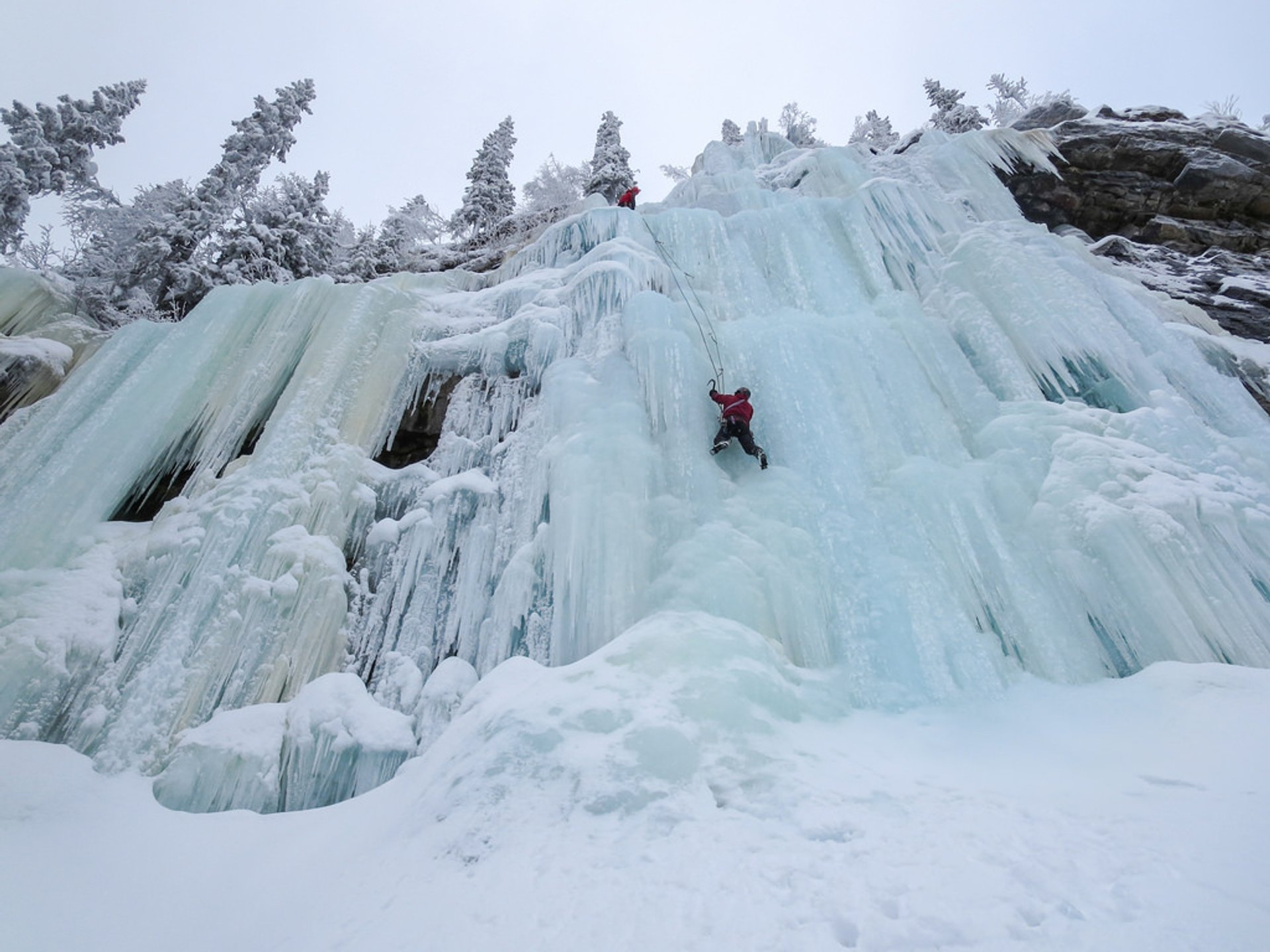 Ice Climbing in Sweden - Best Season