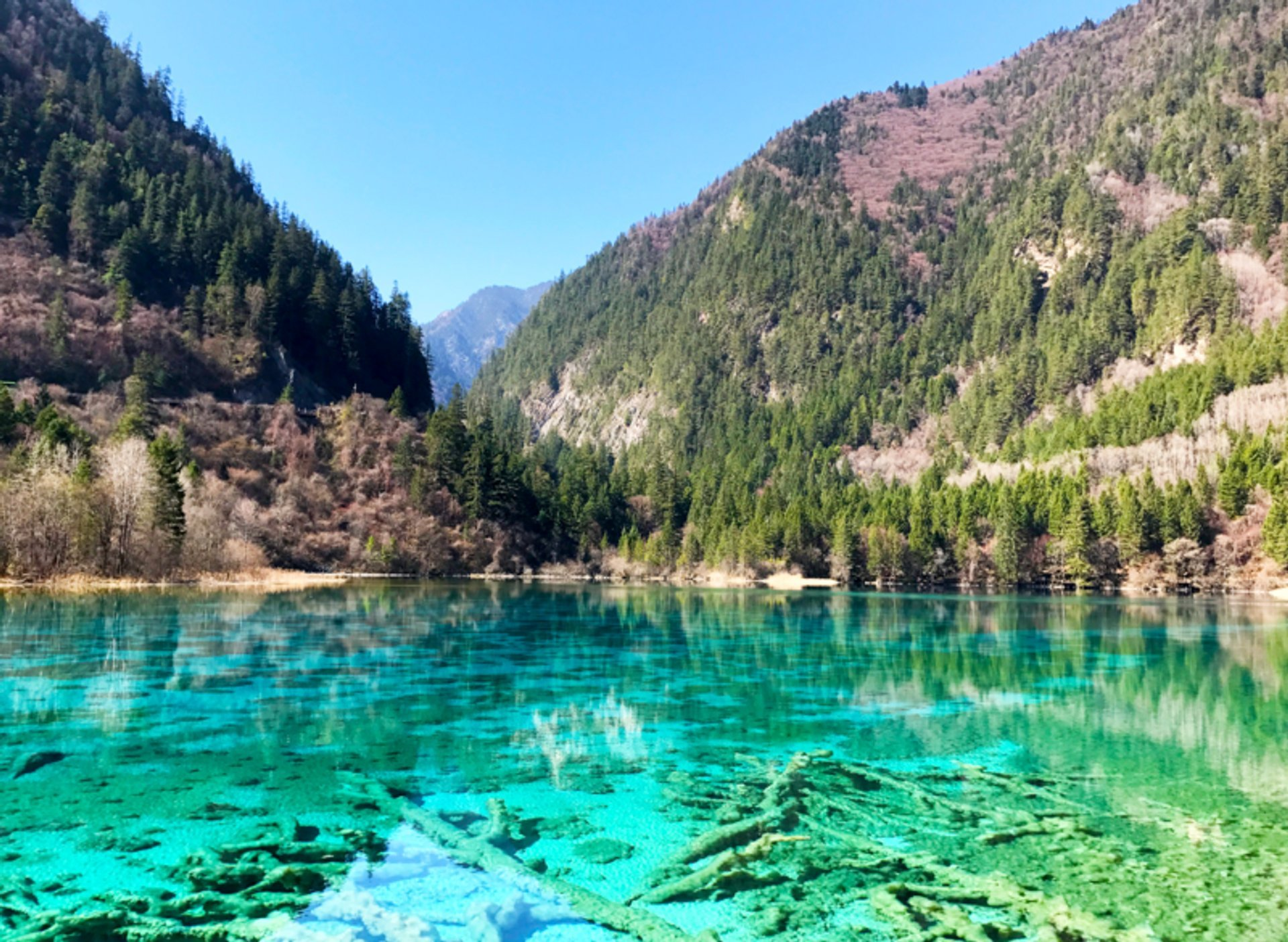 Best time for Jiuzhaigou Valley National Park in China 2020