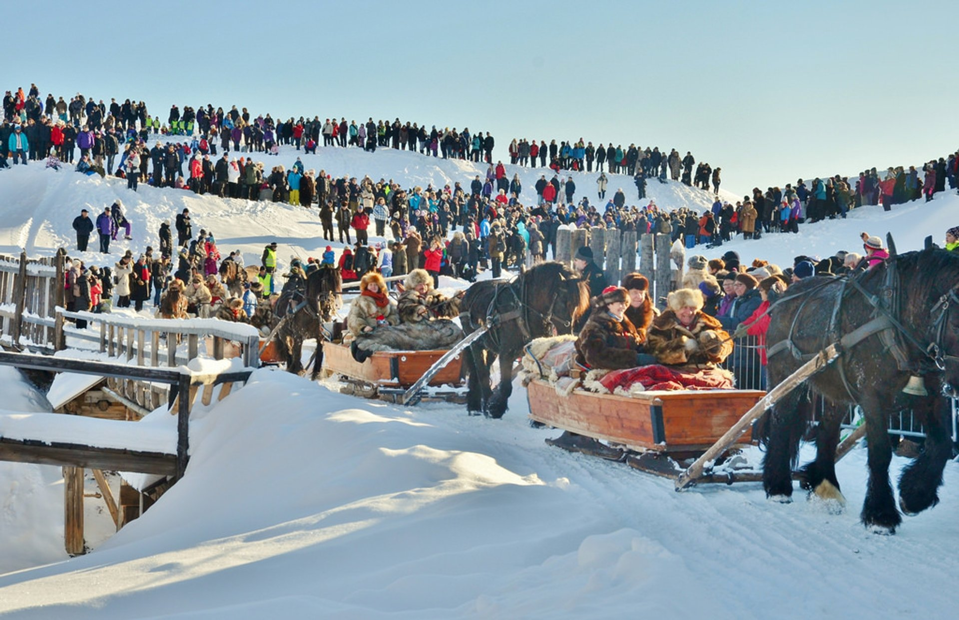 Rørosmartnan or Røros Fair in Norway - Best Season 2020