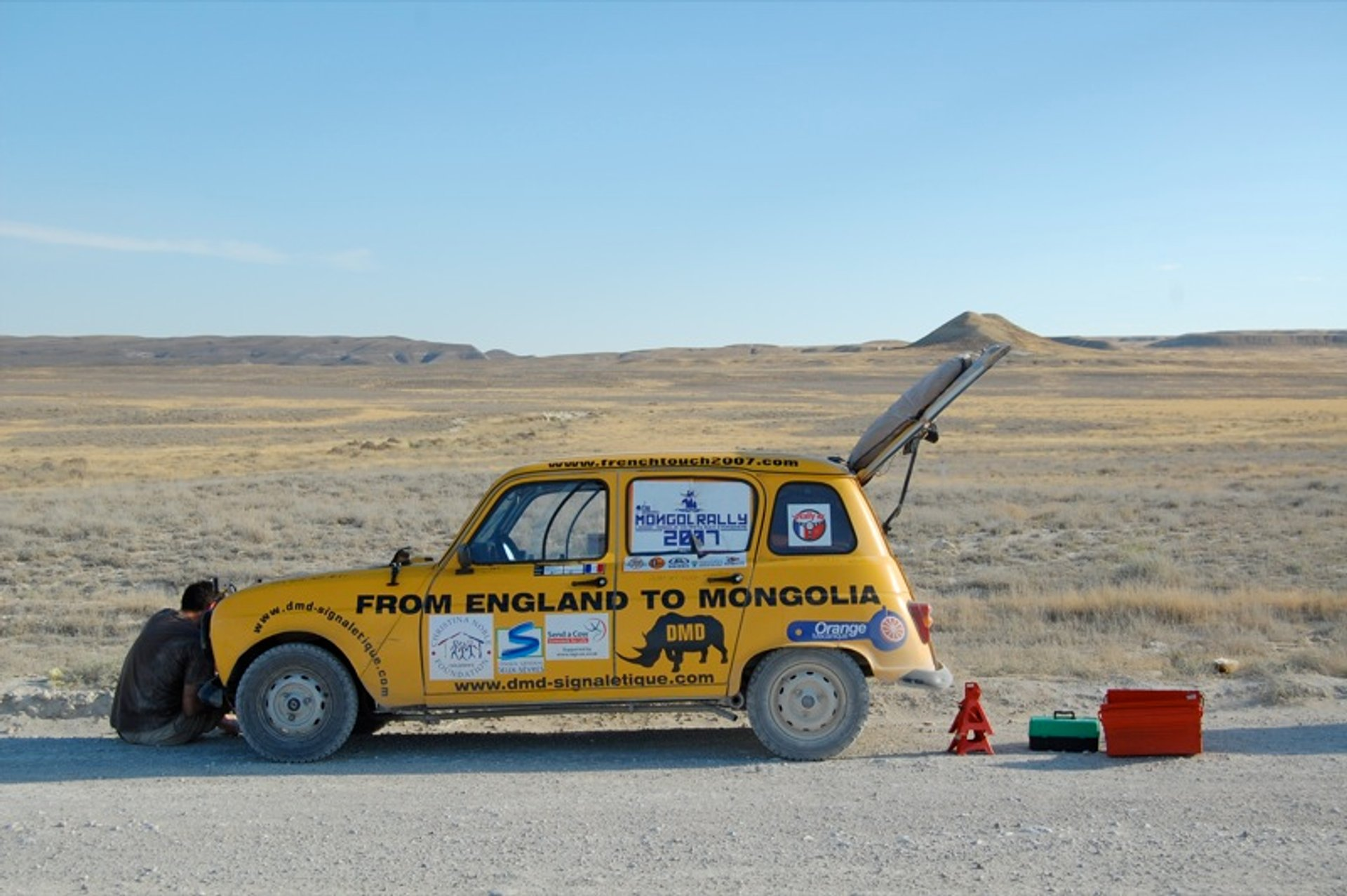 Mongol Rally in Mongolia - Best Season 2019