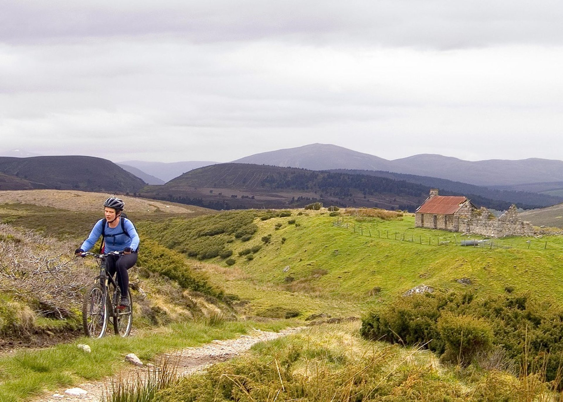 Biking in Cairngorms 2020