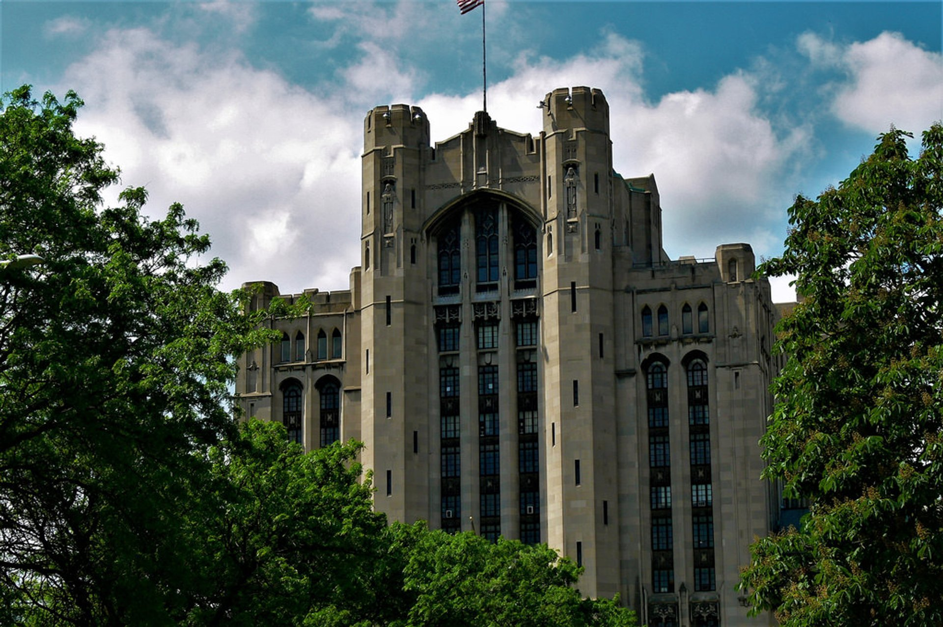 Detroit Masonic Temple in Midwest 2020 - Best Time