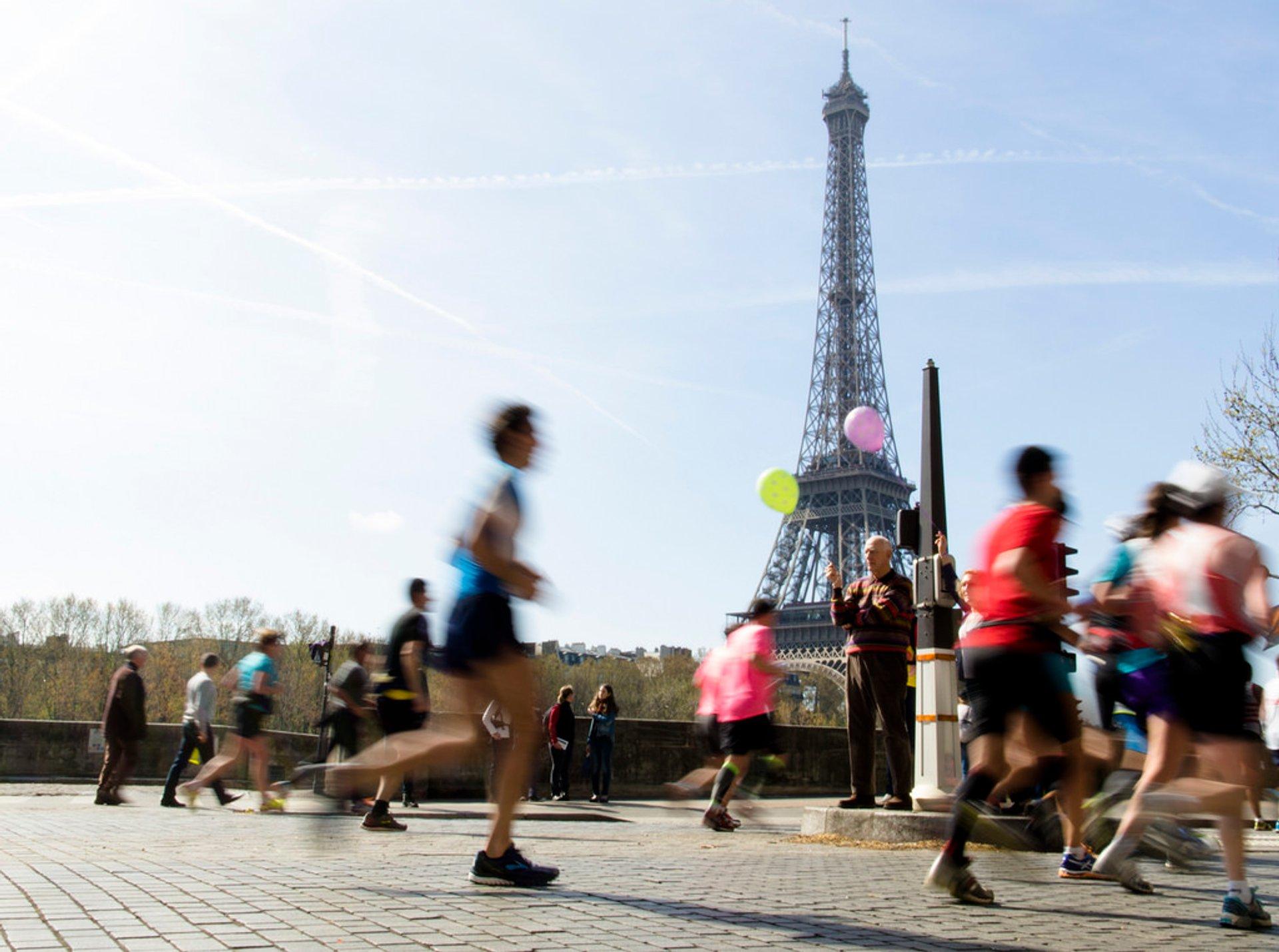Marathon de Paris in Paris 2020 - Best Time