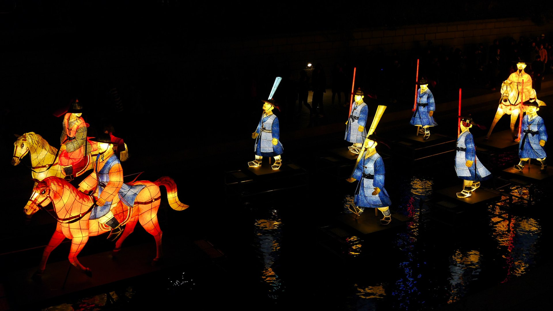 Best time to see Seoul Lantern Festival in Seoul 2020