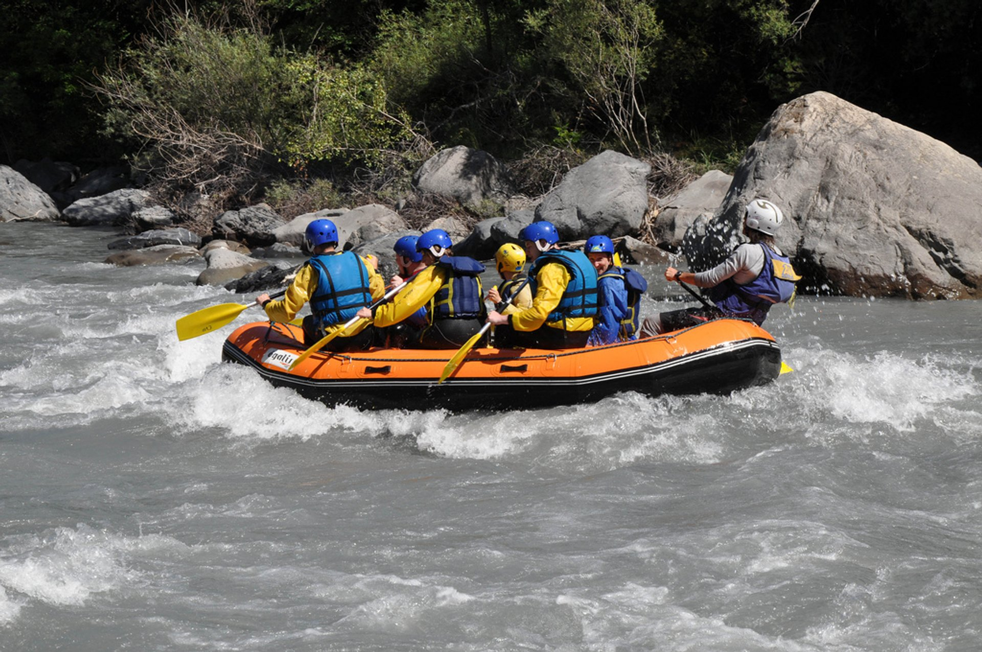 Best time to see White Water Rafting in Provence & French Riviera 2019