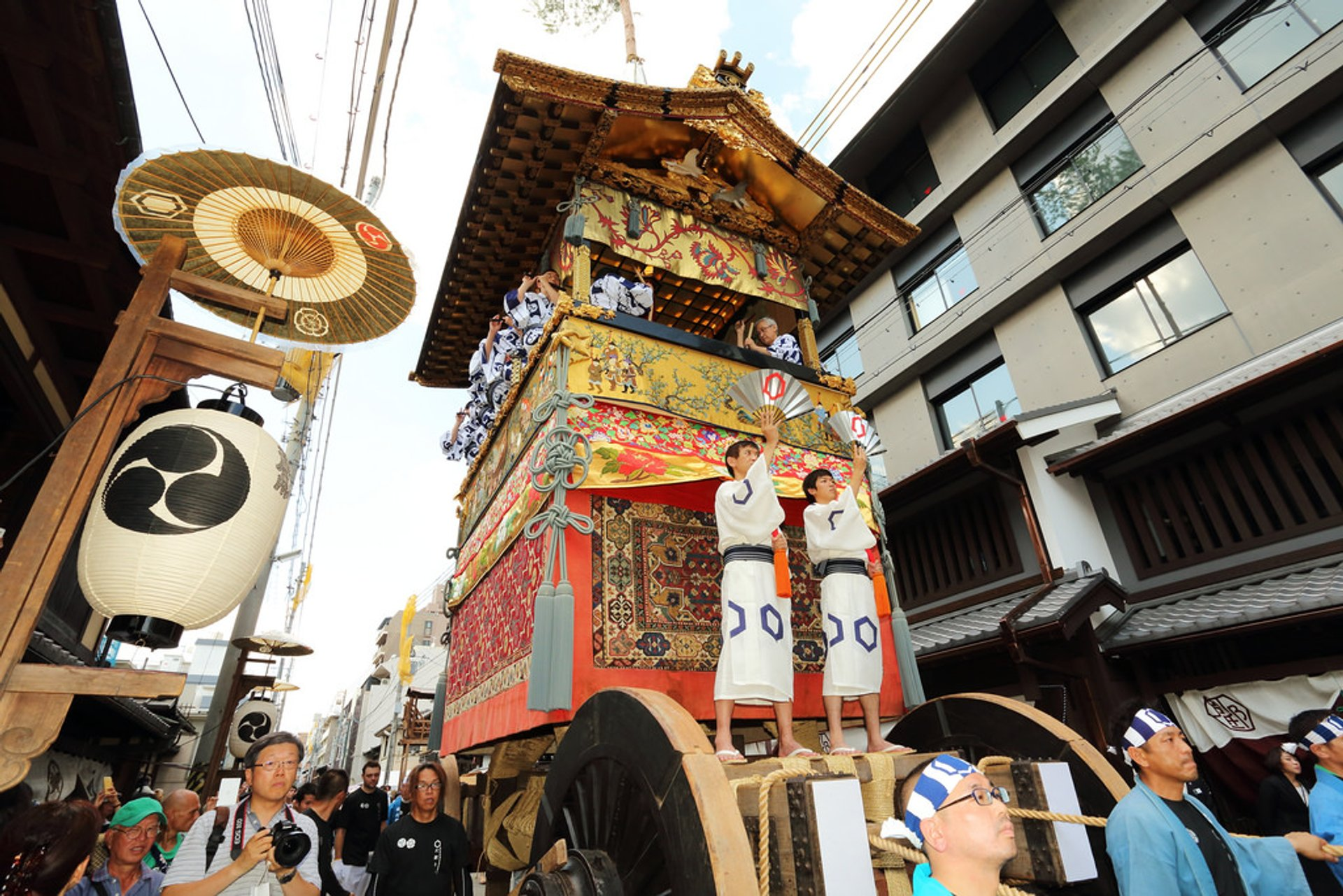 Best time for Gion Matsuri (Festival) in Kyoto 2020