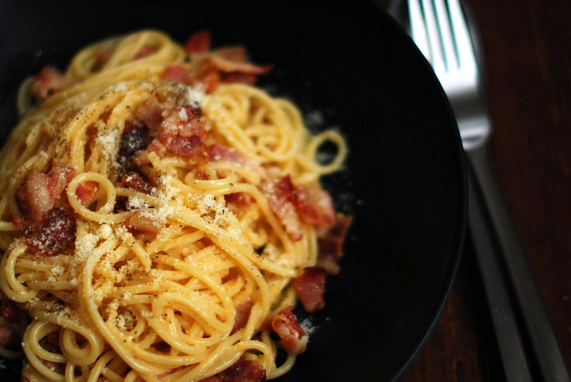 Roman Pasta in Rome 2020 - Best Time