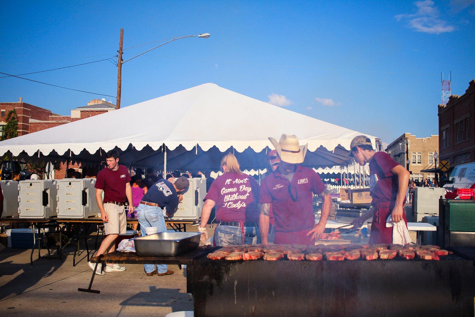 Best time for Texas Reds Steak & Grape Festival in Texas 2020