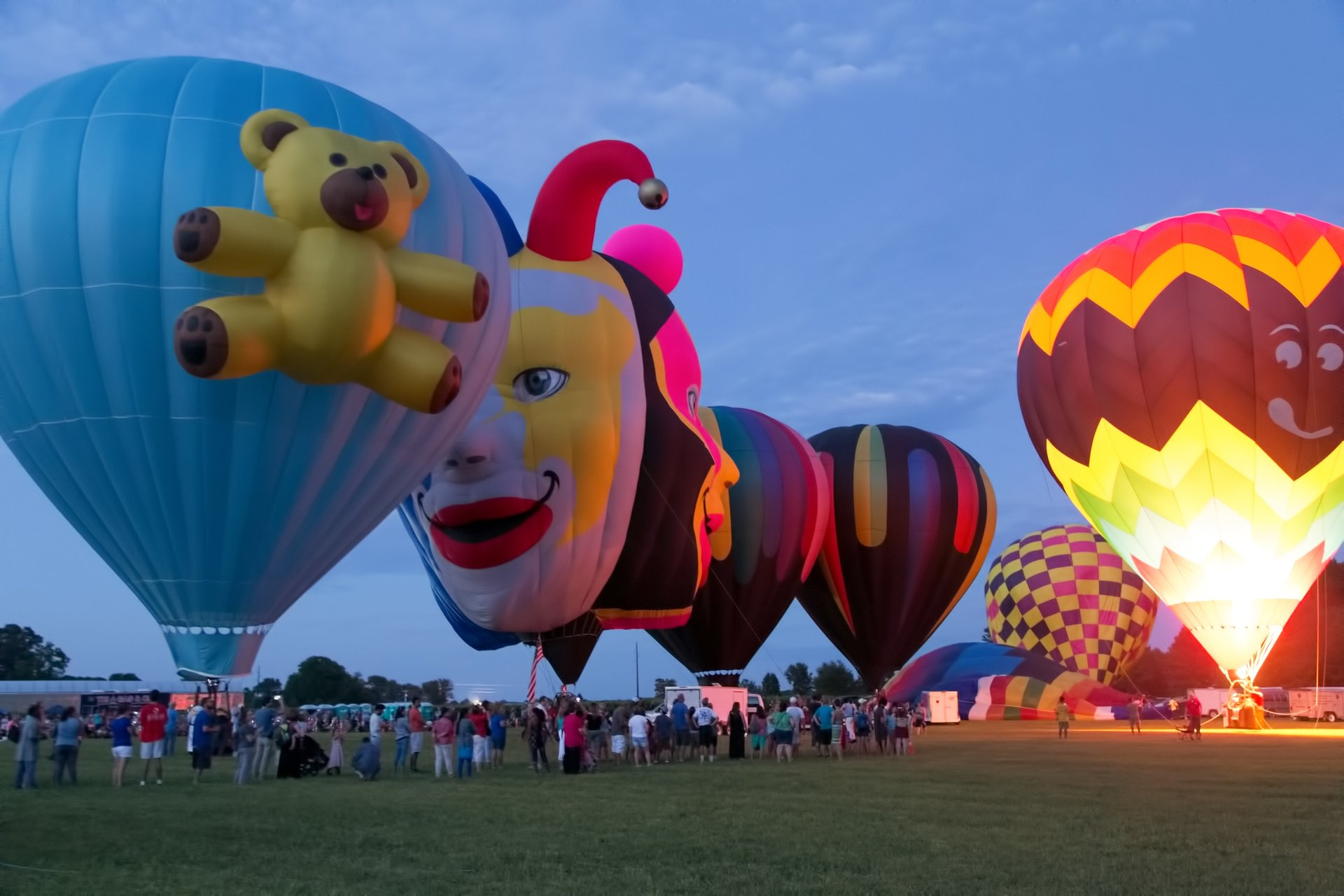 Best time for Chesapeake Bay Balloon Festival in Maryland 2019