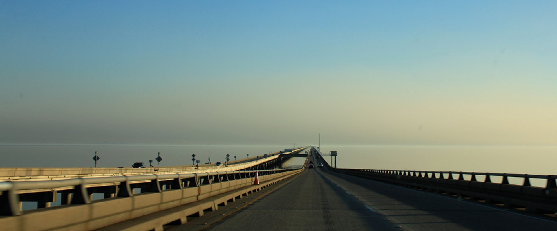 Best time for Lake Pontchartrain Causeway Bridge in New Orleans 2019