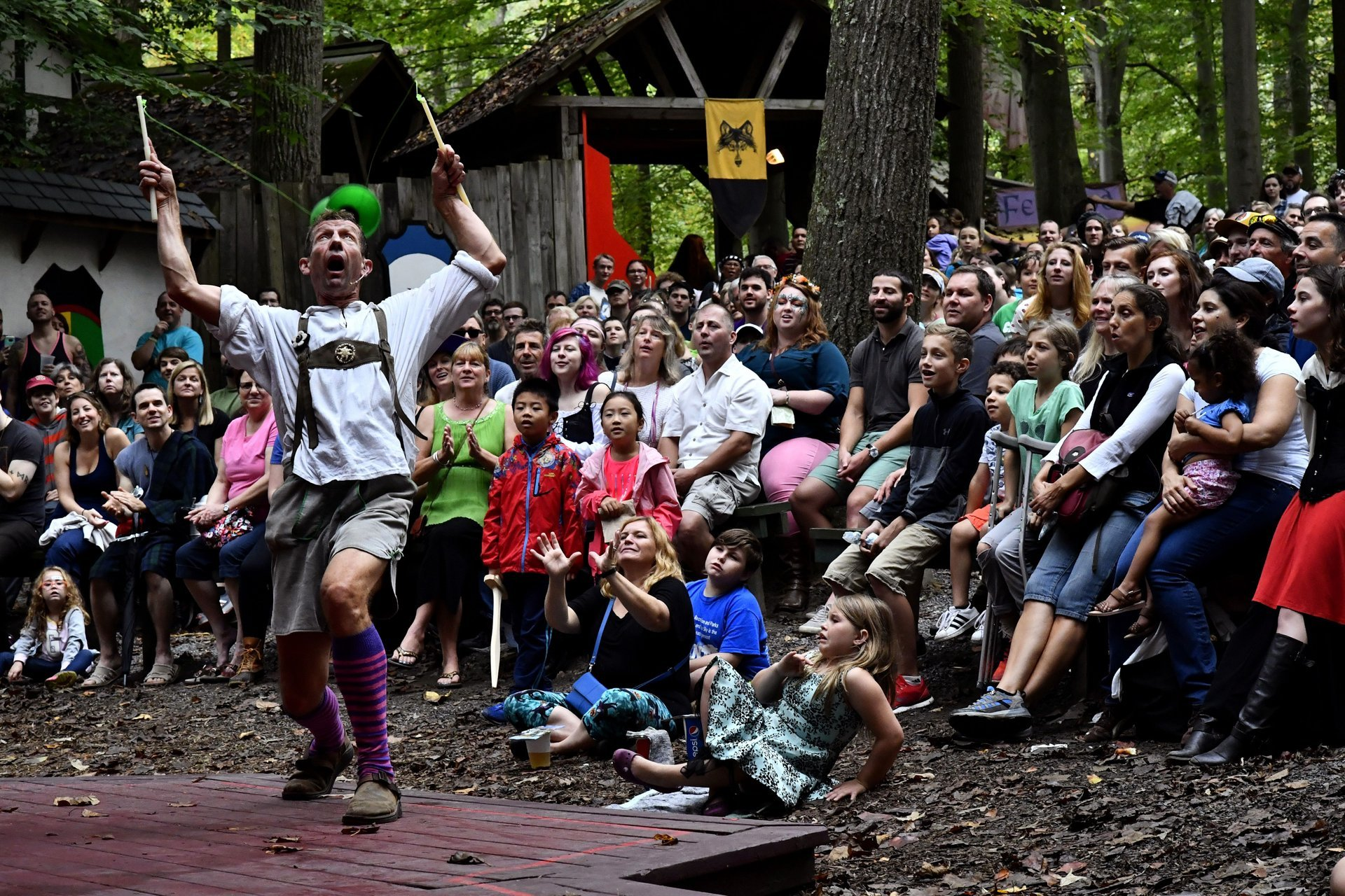 Best time to see Maryland Renaissance Festival in Maryland 2020