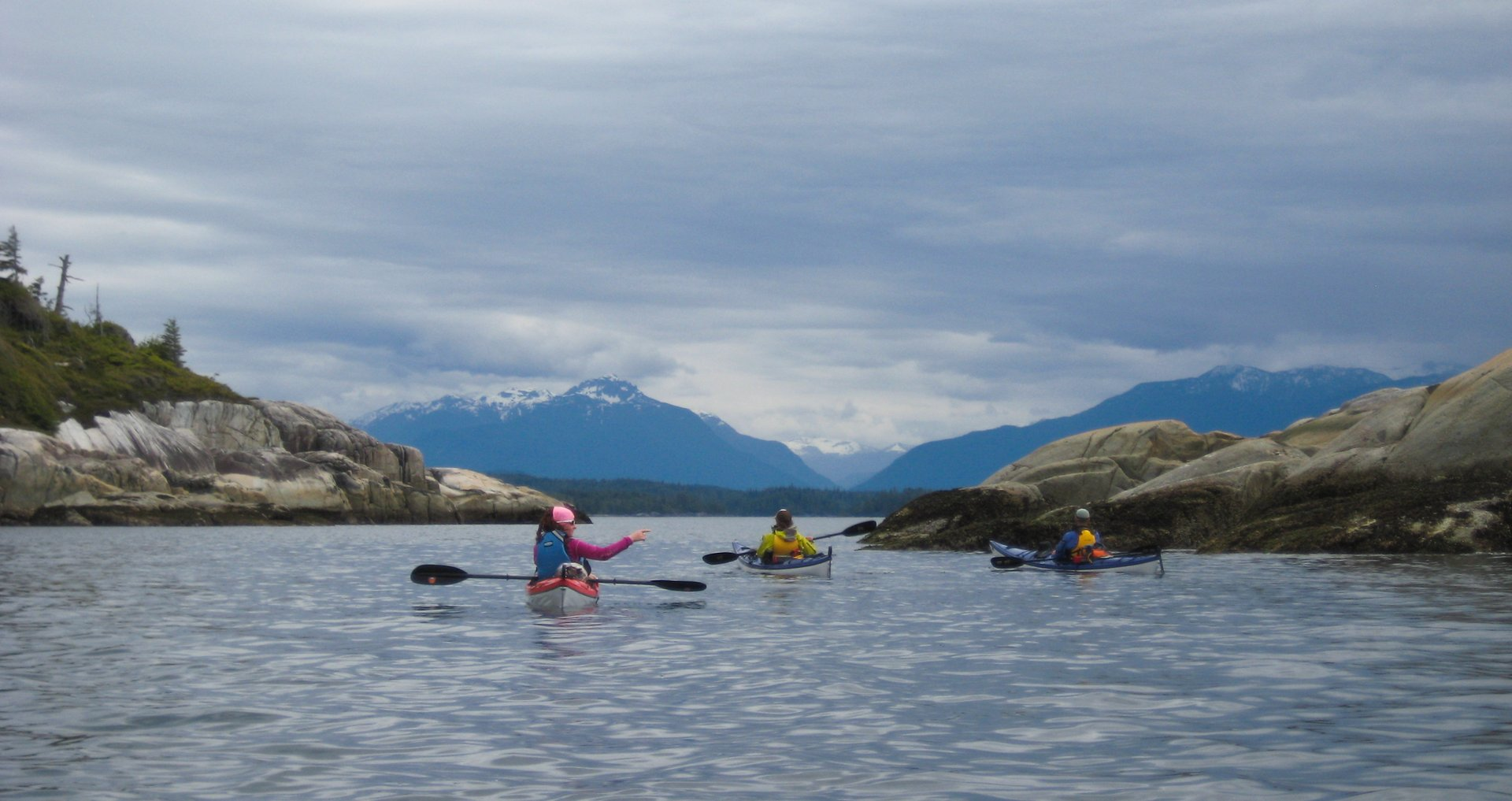 Kayaking around Vancouver Island 2020