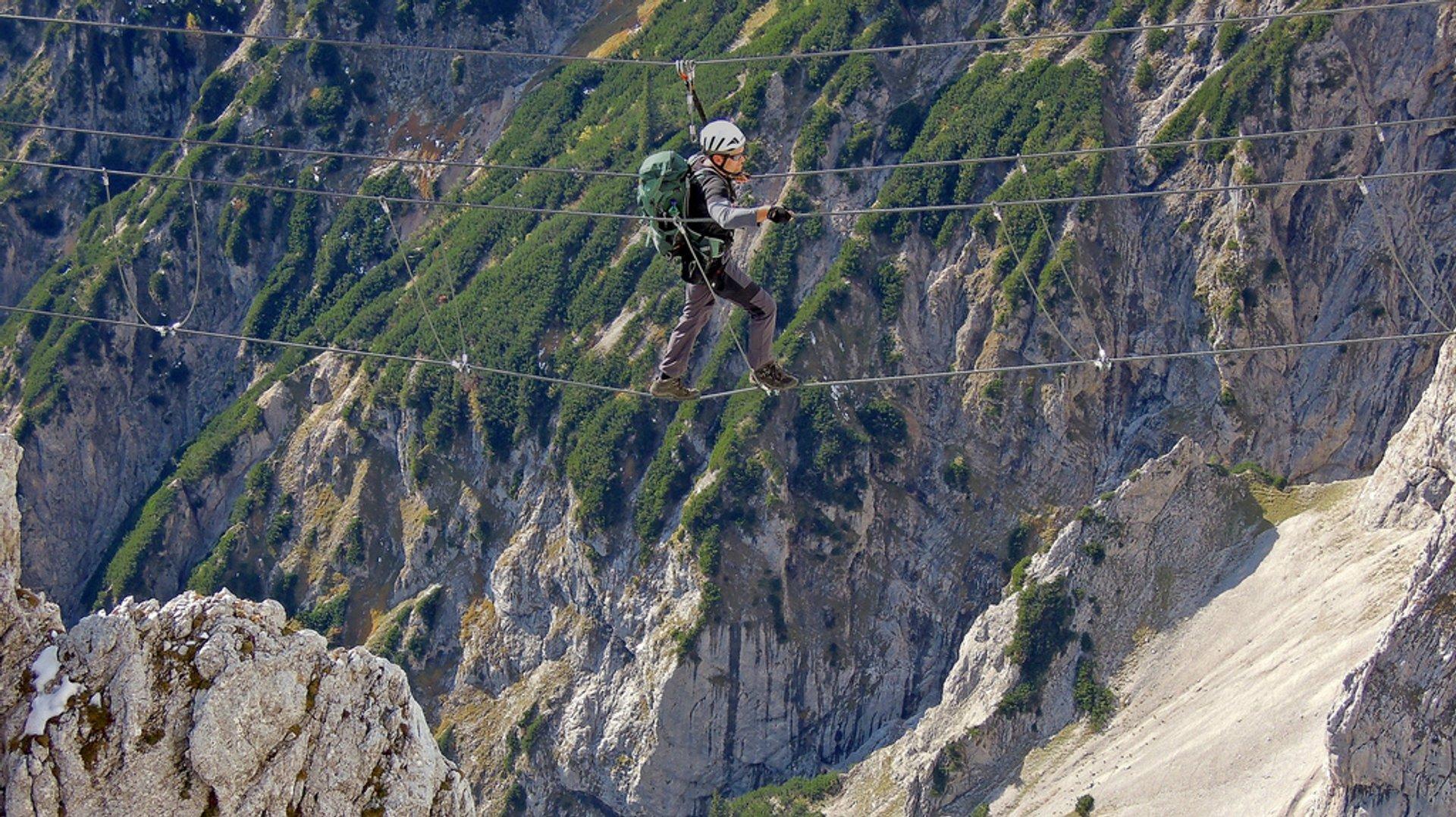 Best time for Via Ferrata in Austria 2020