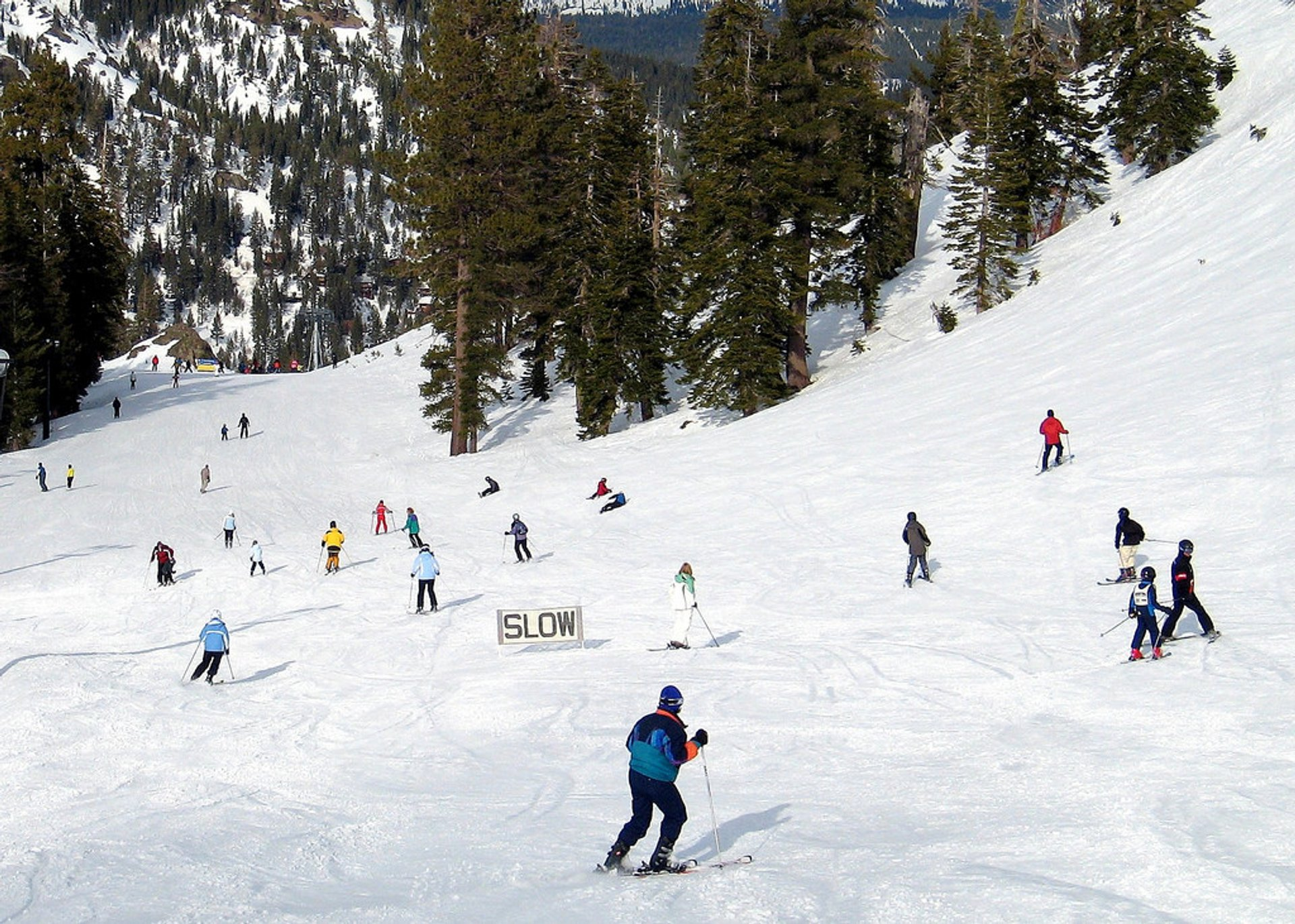 Skiing at Lake Tahoe in California - Best Season 2020