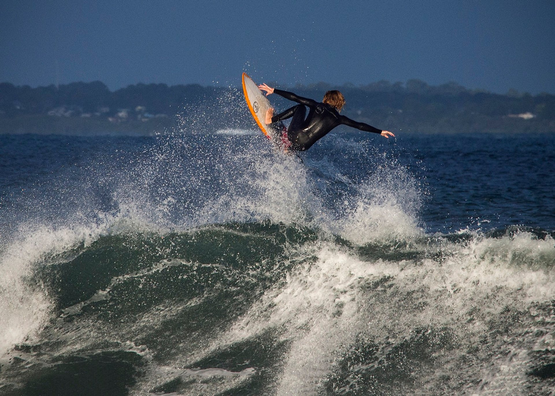 Surfing at Point Leo, Mornington Peninsula 2020
