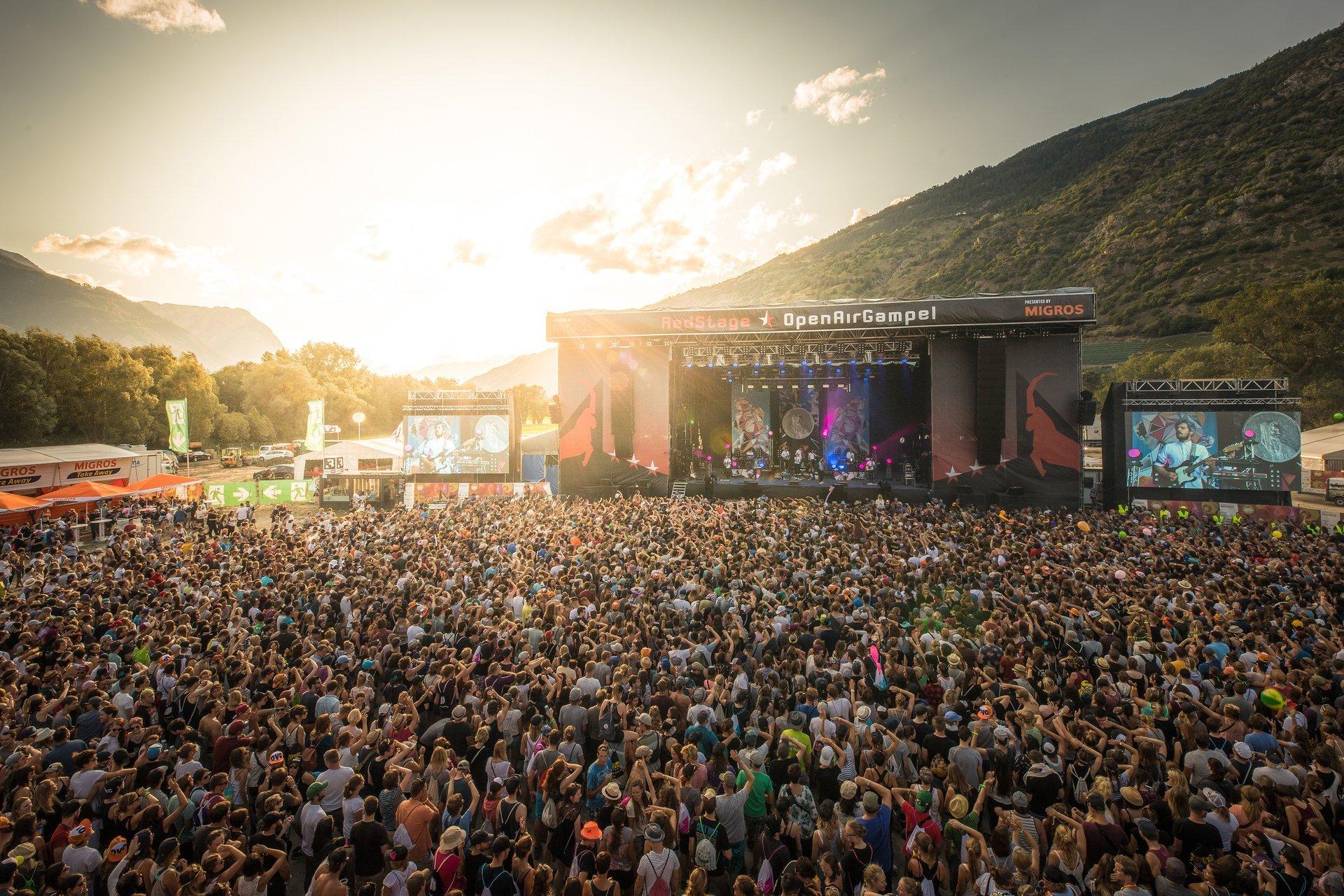 Open Air Gampel in Switzerland 2020 - Best Time