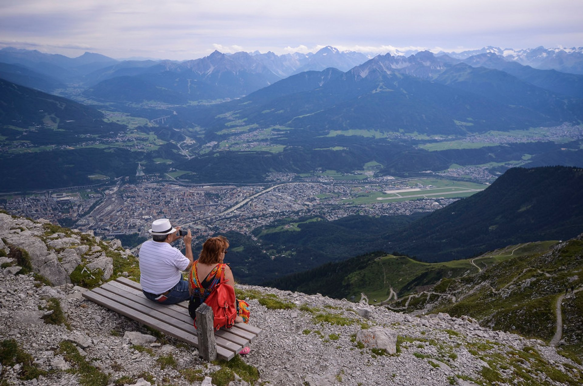 Hafelekar view over Innsbruck 2020