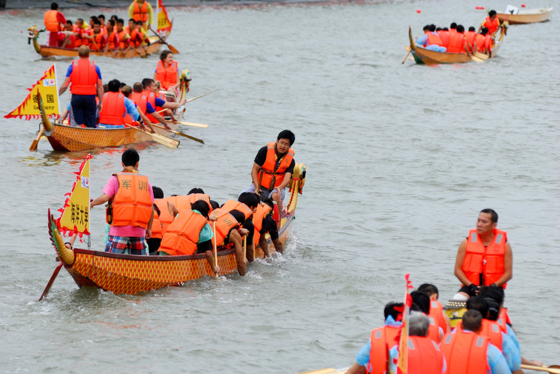 Best time to see Dragon Boat Festival in Shanghai 2019