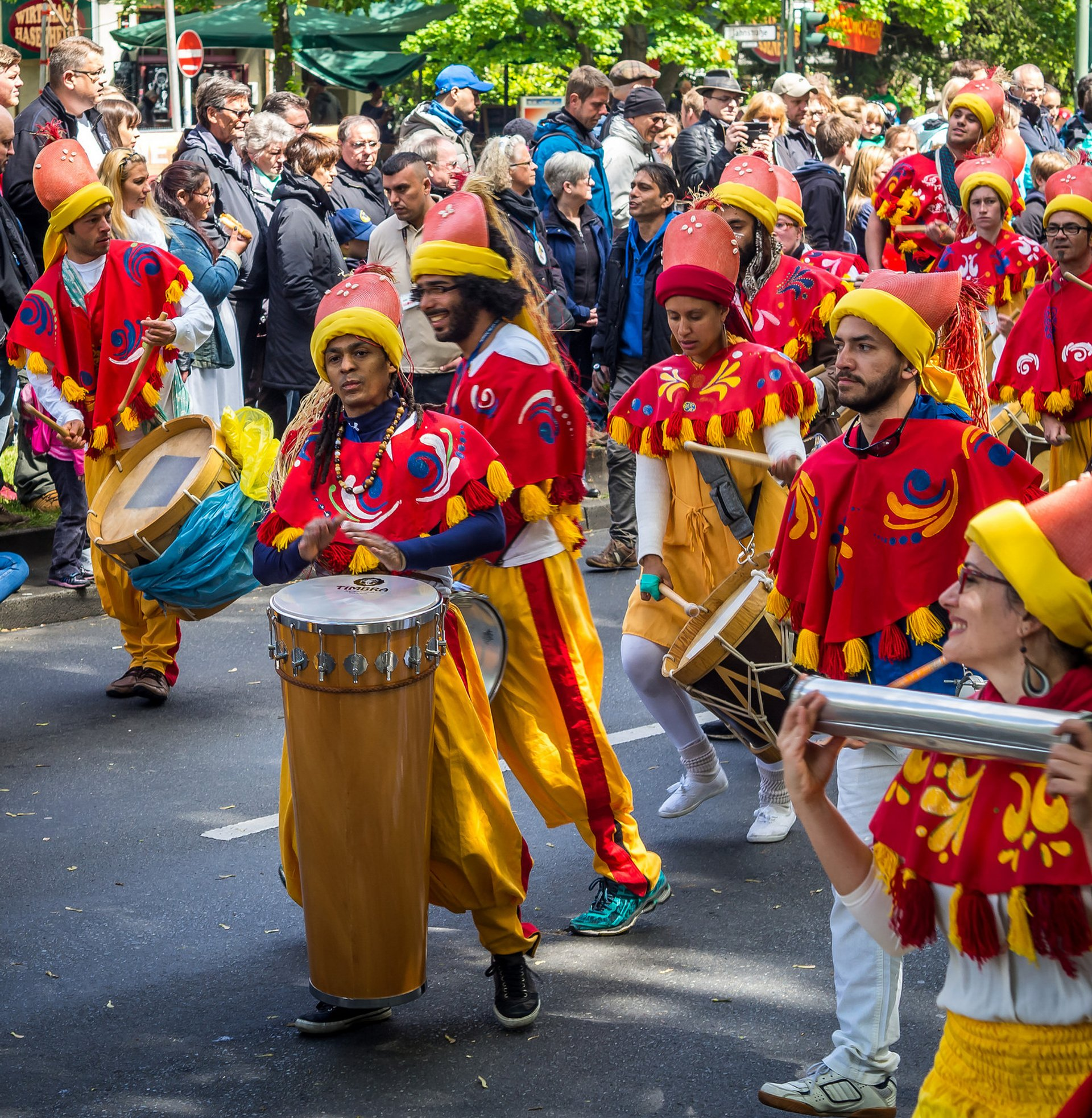 Best time for Carnival of Cultures 2019