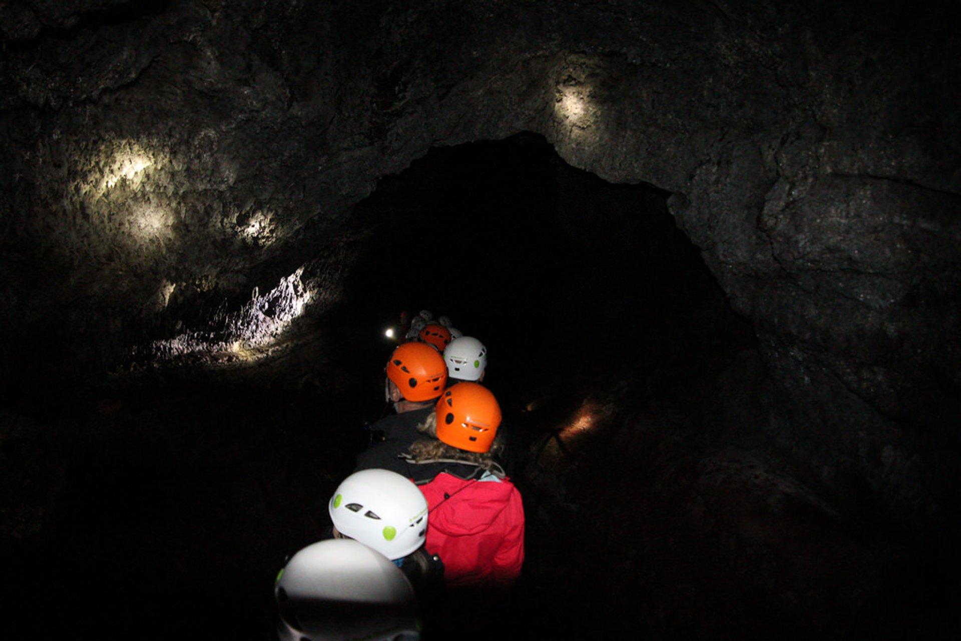 Cavetour in Vatnshellir 2020