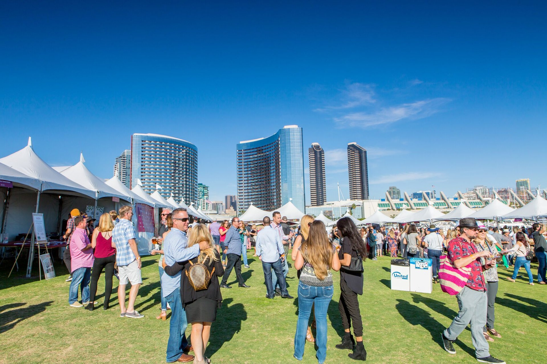 Best time to see San Diego Bay Wine + Food Festival 2020